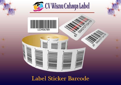 label sticker barcode