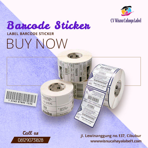label barcode sticker