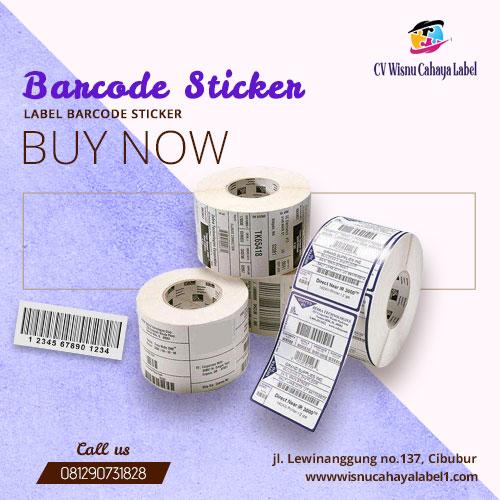 label barcode sticker